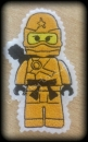 Applikation Ninjago  orange