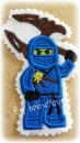 Applikation Ninjago blau