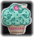 Applikation  Muffin mint Sterndli